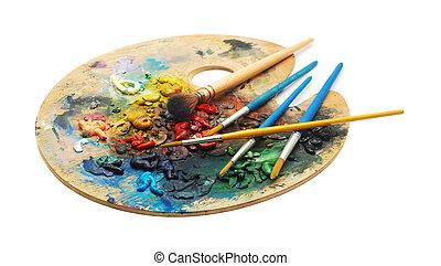 namalujcie paletę