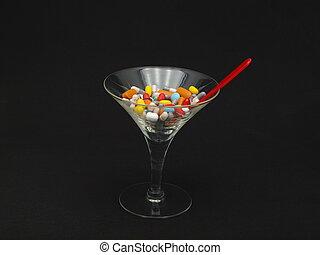 narkotyk, cocktail