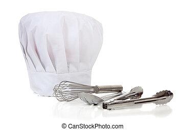 narzędzia, kuchmistrze, naczynia kuchenne, -