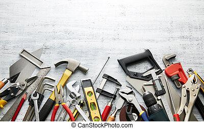narzędzia, ręka