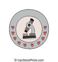 nauka, mikroskop, wyposażenie