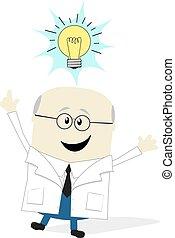 naukowiec, idea