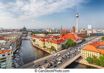 niemcy, berlin, cityscape
