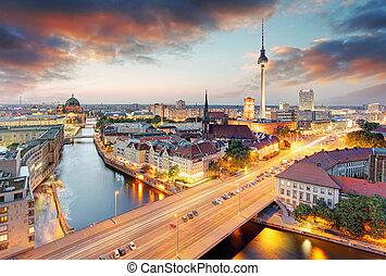 niemcy, cityscape, berlin