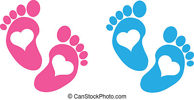 niemowlę feet
