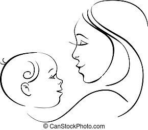 niemowlę, macierz