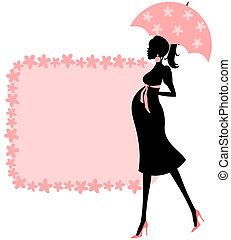 niemowlę przelotny deszcz, (pink)