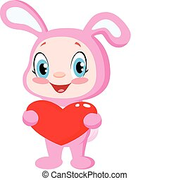 niemowlę, serce, królik, dzierżawa