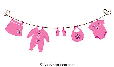 niemowlę ubranie