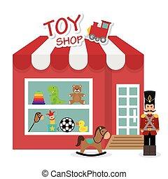 niemowlę, zabawki, design.