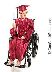 niepełnosprawny, senior, absolwenci, kolegium