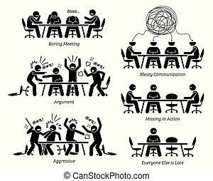 nieskuteczny, discussion., posiadanie, bezskuteczny, spotkanie, egzekutorzy