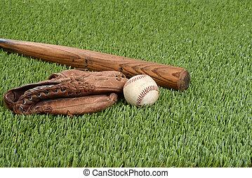 nietoperz, baseballowa rękawiczka