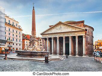 nikt, -, panteon, rzym