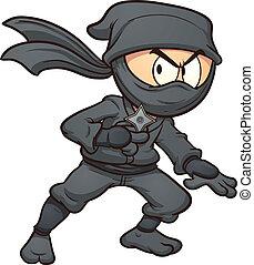 ninja, rysunek