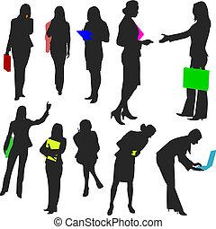 no.2., ludzie, -, handlowe kobiety