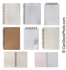 notatnik, zbiór