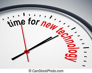 nowa technologia, czas