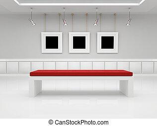 nowoczesna galeria sztuki