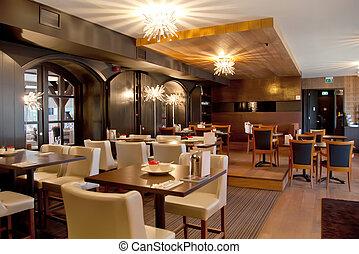 nowoczesny, restauracja