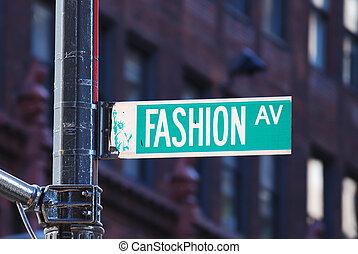 nowy, fason, aleja, york, miasto