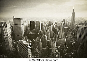 nowy, manhattan, york, miasto