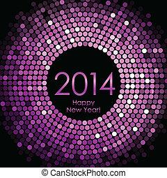 nowy, szczęśliwy, 2014, rok