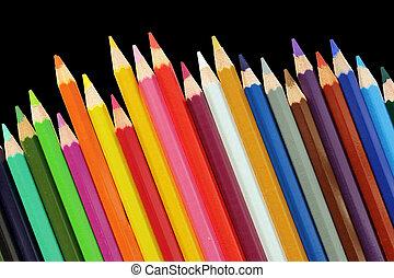ołówki, komplet
