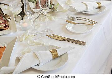 obiad, ślub