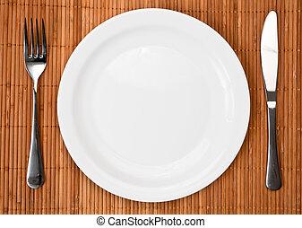 obiad umieszczenie, miejsce