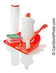 obiekty, czyszczenie, odizolowany