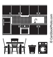 obiekty, kuchnia