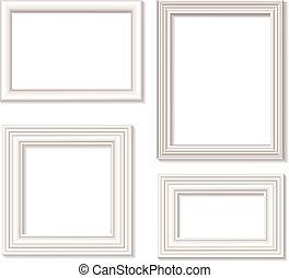 obraz budowa, biały