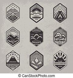 obsada, odznaka, set1