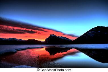 obsada, zachód słońca, rundle