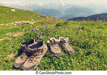 obuwie, hiking