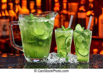 ogórek, cocktail