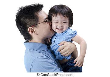 ojciec, asian