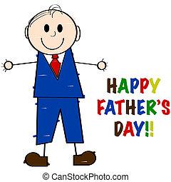 ojcowy dzień, szczęśliwy