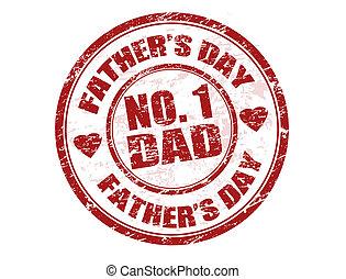 ojcowy, tłoczyć, dzień