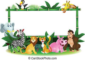 okienko znaczą, zwierzę, rysunek