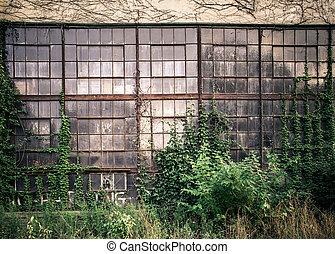 okna, przemysłowy