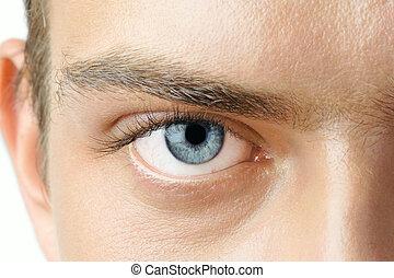oko, człowiek