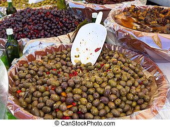 oliwki, targ, włoski