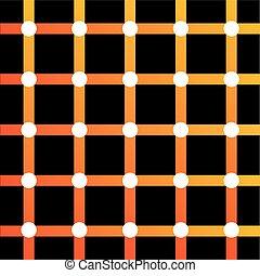 optyczne złudzenie, barwny