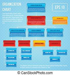 organisational, infographic, wykres
