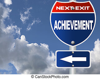osiągnięcie, droga znaczą