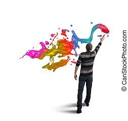 otwarty, twórczość, handlowy