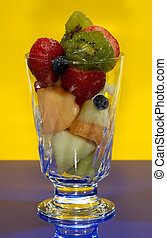 owoc, filiżanka