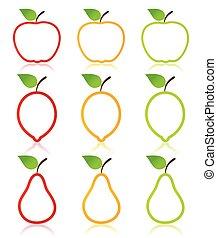 owoc, ikona